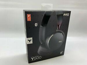 AKG Y500 On the Ear Wireless Headphones - Black #3064354