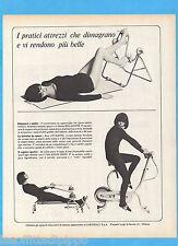 QUATTROR966-PUBBLICITA'/ADVERTISING-1966- CARNIELLI -CYCLETTE/VOGATORE/RELAXETTE