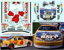 NASCAR DECAL # 4 KODAK NAVY 2000 MONTE CARLO  BOBBY HAMILTON JWTBM