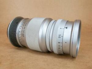 Leitz Leica 90mm 1:4 Elmar Lens E42 - screw mount