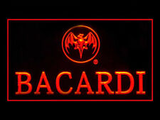 Y117R Bacardi For Pub Bar Display Decor Light Sign