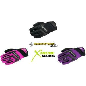 Scorpion Skrub Women's Gloves Knuckle/Finger Protector Padded Palm XS-XL