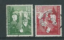 GERMANY 1952 YOUTH HOSTELS FUND USED PAIR BARGAIN PRICE!