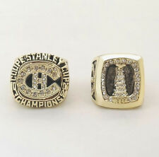 New  Set (2pcs) 1986 1993 MONTREAL CANADIENS NHL Stanley Cup Championship Ring