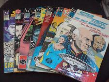 """STAR TREK THE NEXT GENERATION N.2-3-4-5-6-7-8 1995-1996 - BUONI """"NU"""""""