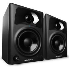 2x M-Audio AV42 AV 42 Studio Reference Monitor Speakers - replace AV40