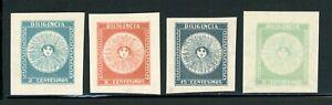 URUGUAY MH Selections: Scott #410-413 1931 Philatelic Exhibition CV$12+