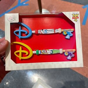 IN HAND! Disney Store JAPAN 2021 Collectible Key Toy Story Forky Pixar