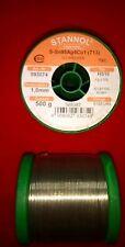 1mm LÖTZINN 4 % SILBER 50Gramm STANNOL BLEIFR.