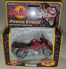 1:18 MOTORCYCLE MEGA MASTERS POWER CYCLES BMW RED DIE-CAST made by Maisto