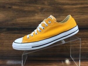 Converse All Stars Mens Yellow Canvas Casual Shoes Mens 9 Womens 11 Excellent