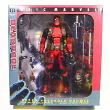 """NECA Deadpool Ultimate 8"""" Action Figure 1:10 Scale Collector Epic Marvel Doll"""