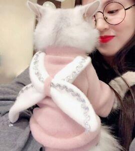 Pet Cloth Angel Wings Cat Dog Coat Cute Cat Elegant Tops Halloween Cats Coat