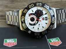 TAG HEUER Formula 1 Chronograph 41mm CAH1110 MINT STAINLESS STEEL BOX PAPERS