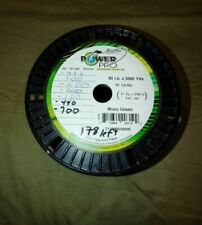 Power Pro Braid Fishing Line 80lb Moss Green 175 Yards