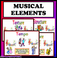 MUSICAL ELEMENTS - Music -  Class Display Posters KS2 Primary Teaching Resources