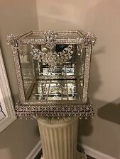 Wedding Keepsake Rhinestone Crystal Box
