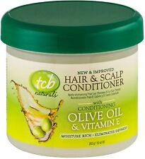 TCB Naturals Hair - Scalp Conditioner With Olive Oil - Vitamin E 10 oz (3 pack)