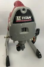 Titan XT250 Airless Paint Sprayer W/ Gun And Siphon Attachment Only No Hose Test