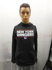 NWT New York Rangers Adidas Authentic NHL Hoody Squad Pullover Men S
