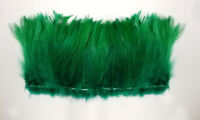 HACKLE 3'' Feather FRINGE Color Kelly Green (Appx 100 pcs)(Halloween/Hats/Craft