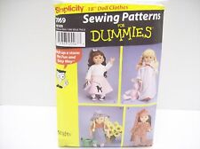 18 inch doll clothes Simplicity 7069. Sewing Patterns For Dummies. Poodle Skirt
