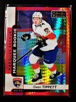Owen Tippett - 156/199 - 2017-18 O-Pee-Chee Platinum Red Prism #190 Rookie