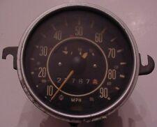 Vintage VW Volkswagen Bug Beetle Ghia Type 1 Speedometer Fuel Gas Gauge