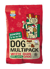 Armitage Dog Christmas Multipack of Treats with Choc Drops and Snowball Biscuits