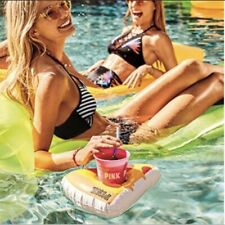 New listing New Victorias Secret Pink Pizza Floatie Cup Holder Limited Edition