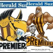 2008 2013 Hawthorn Hawks Grand Final Premiers Premiership Weg Knight Poster