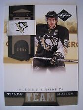Sidney Crosby 2011-12 Panini Limited TEAM TRADE MARKS #16   NUMBERED TO 299