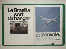9/1983 PUB EMBRAER EMB-120 BRASILIA S.J.DOS CAMPOS FIRST FLIGHT TAM AIRLINES AD