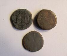Fantastic RARE Lot (3)  Roman Republic Janus / Prow after 211 B.C.