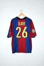 🔥98/99 XAVI authentic shirt Barcellona jersey retro vintage Messi Ronaldo Spain