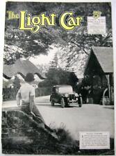 The LIGHT CAR 9 Aug 1935 Triumph Gloria, Rover Original Motoring Car Magazine