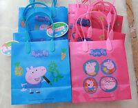 12 Peppa Pig Birthday Party Goody Goodie Gift Favor Candy Bags Kids Girls Boys
