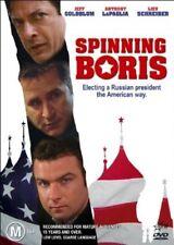 Spinning Boris DVD, Jeff Goldblum, Anthony Lapaglia, RUSSIAN SPY POLITICAL