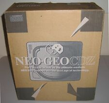 Neo Geo CDz Console, boxed + 6 games - Free Domestic Shipping