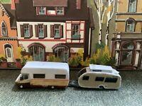 Suitable Marklin spur z scale/gauge Camper Van & Caravan.