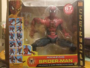 "Toy Biz Amazing Spider-Man 18"" Super Poseable Action Figure New & Unopened"