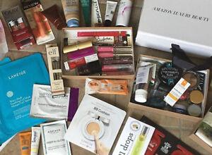 Beauty Box Mixed Lots: Sample & Full Size Skin, Face, Hair, and Cosmetics Items