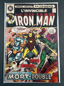IRON MAN #13 (1973) Marvel Heritage French Canadian Comic (#58 US) Gullivar Jone