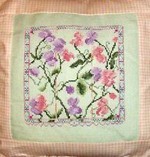 Sweet Pea Elegance Cross Stitch Pattern Garden Flowers Country Garden Stitchery
