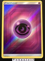 Carte Pokemon ENERGIE PSY Holo Reverse Soleil et Lune 11.5 SL11,5 FR NEUF