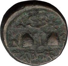 TABAI in Caria 100BC Zeus & Dioscuri Caps Caduceus Ancient Greek Coin i32007