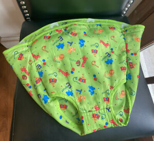 Evenflo Mega Circus Exersaucer Green Fabric Seat Cover Pad Replacement Part