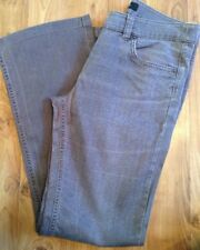 Ladies Size 10L Brown Stripy Jeans From Principles