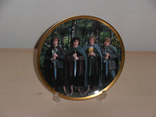 Lord of the rings The Fellowship of the Ring. Pippin, Frodo, Merry and Sam plate