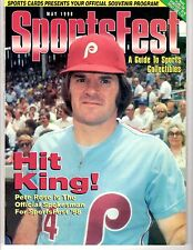 SportsFest Magazine MAY 1998 Souvenir Program with PETE ROSE on the cover